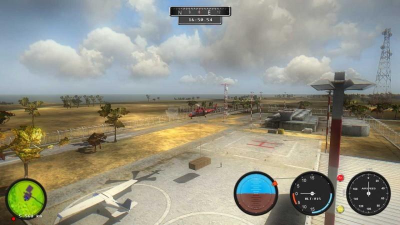 Pantallazo Helicopter Simulator: Search & Rescue