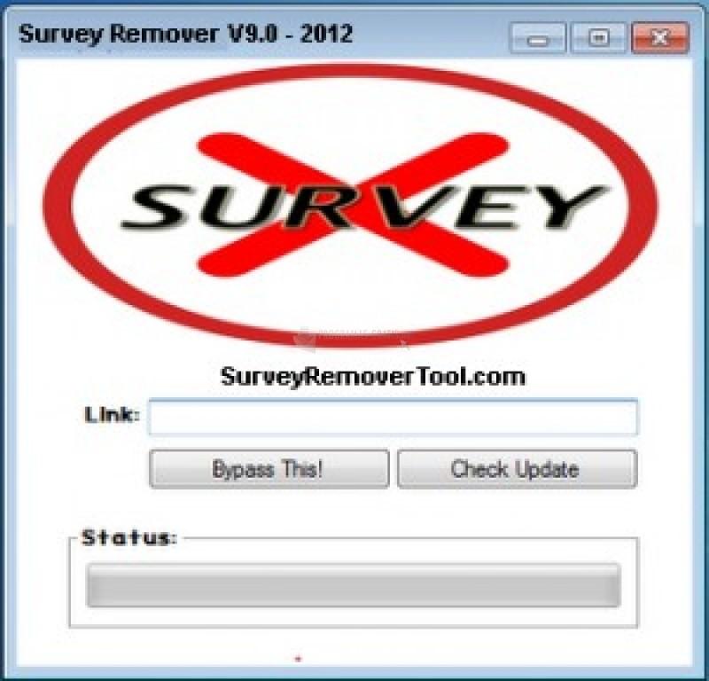 Pantallazo Survey Remover Tool