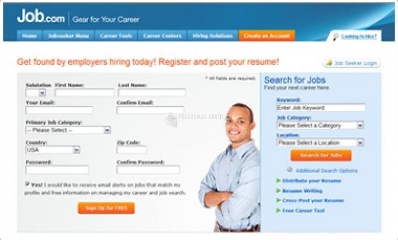 Pantallazo PG Job Site Pro