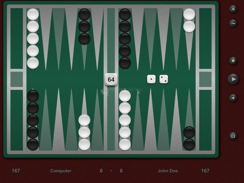 Pantallazo Backgammon Classic Pro