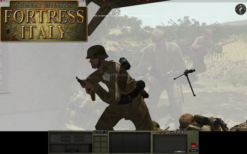 Pantallazo Combat Mission: Fortress Italy