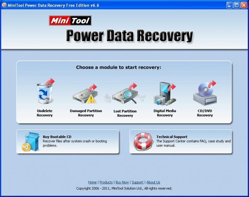 Pantallazo MiniTool Power Data Recovery