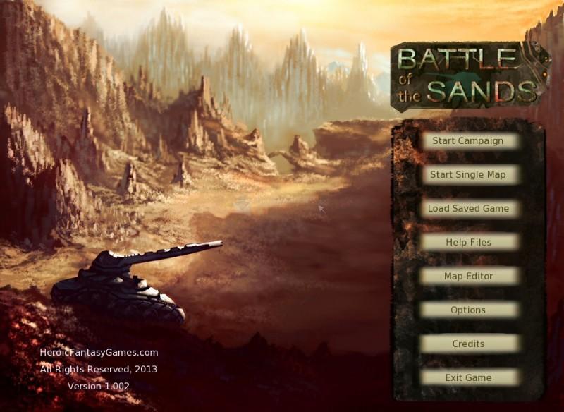 Pantallazo Battle of the Sands