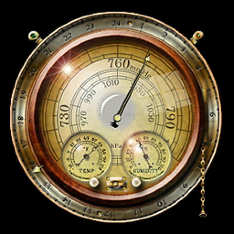 Pantallazo Steampunk Weather Widget