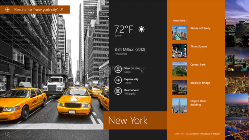 Pantallazo Windows 8 Preview