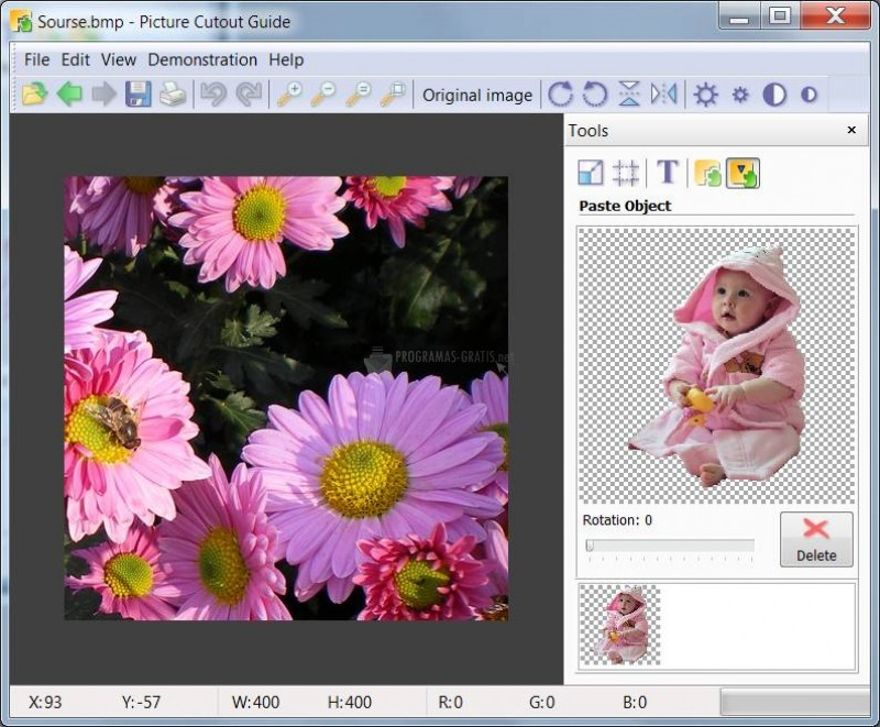 Pantallazo Photo Montage Guide