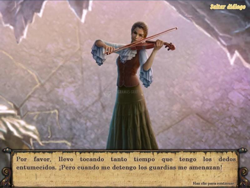 Pantallazo Música del Vacío