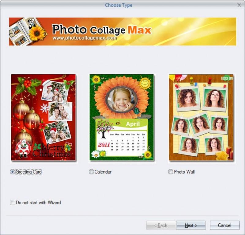 Pantallazo Photo Collage Max