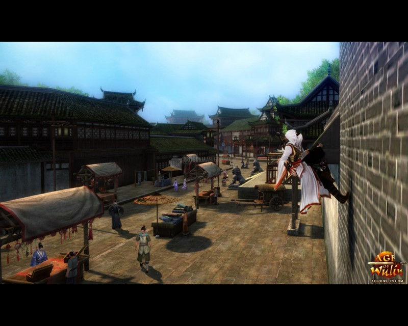 Pantallazo Age of Wulin: Legend of the Nine Scrolls