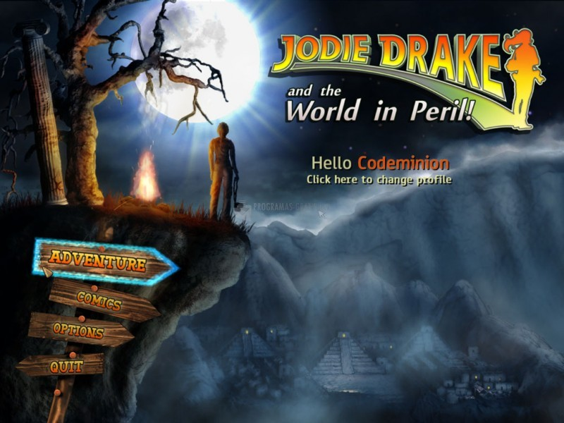 Pantallazo Jodie Drake and the World in Peril