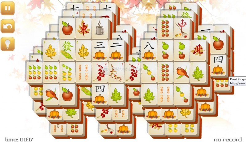 Pantallazo Cloudy Fall Mahjong