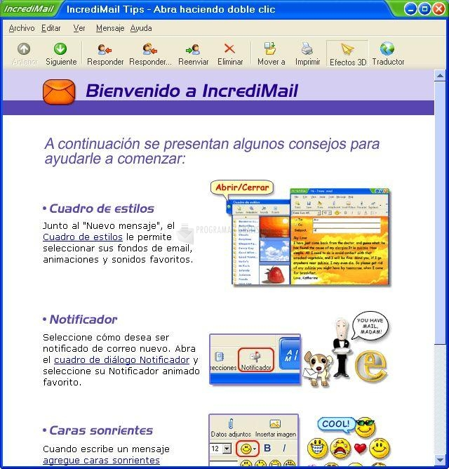 incredimail in italiano gratis