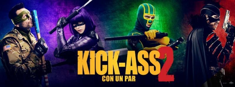 Pantallazo Kick-Ass 2, con un par