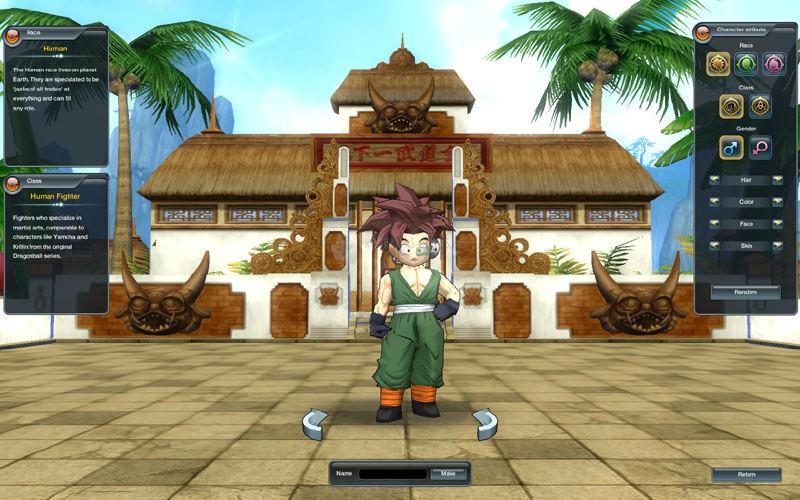 Pantallazo Dragonball Online