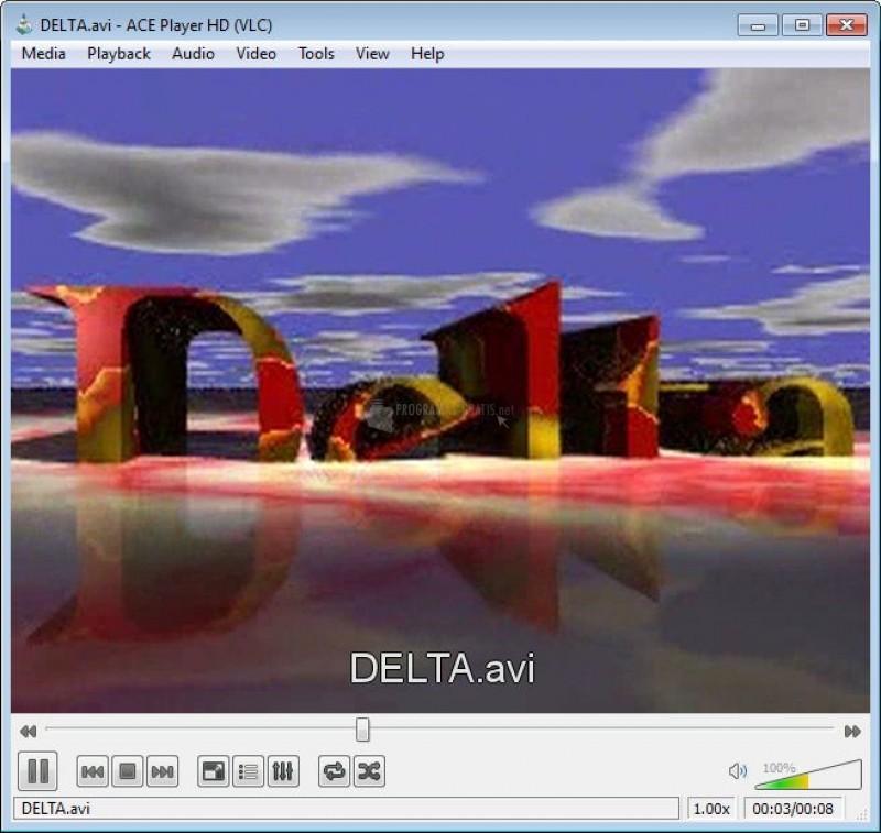 Pantallazo Ace Stream Media