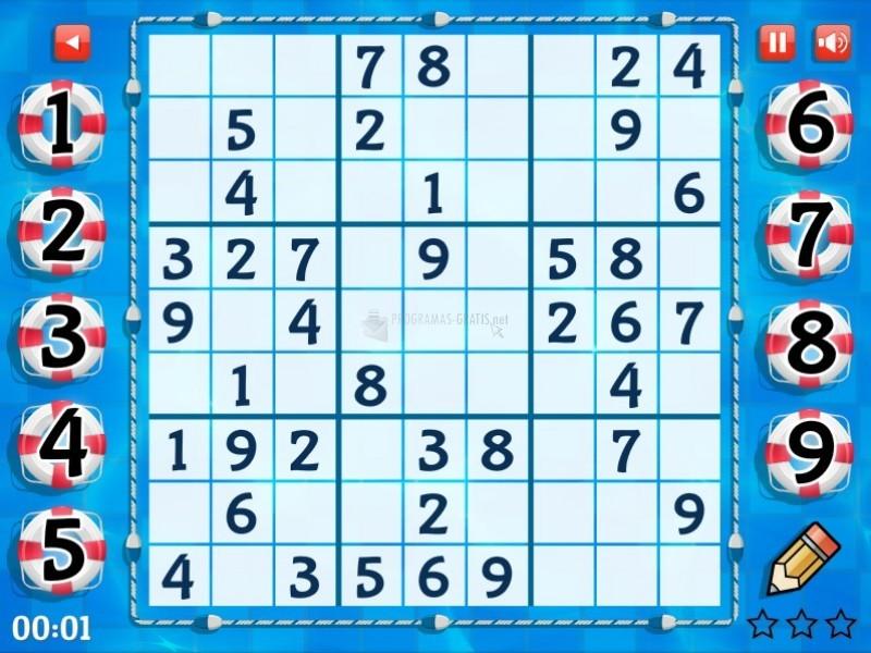 Pantallazo Summer Sudoku