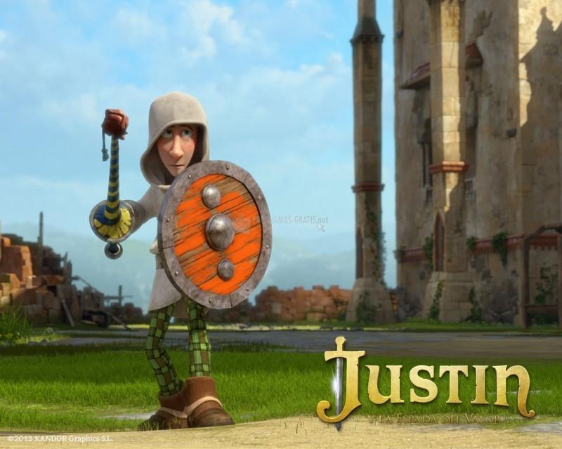 Pantallazo Justin y la espada del valor