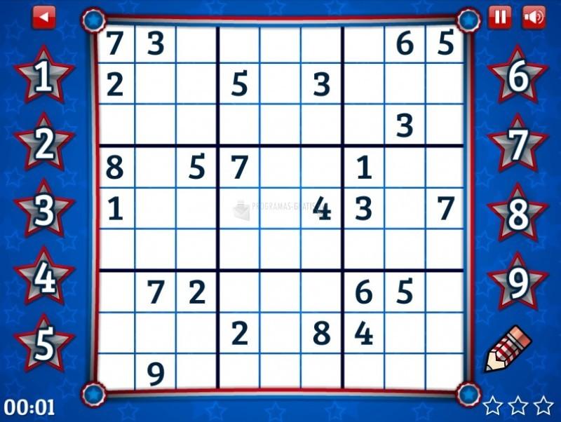 Pantallazo Medium 4th of July Sudoku