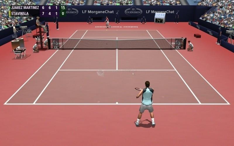 Pantallazo Full Ace Tennis Simulator