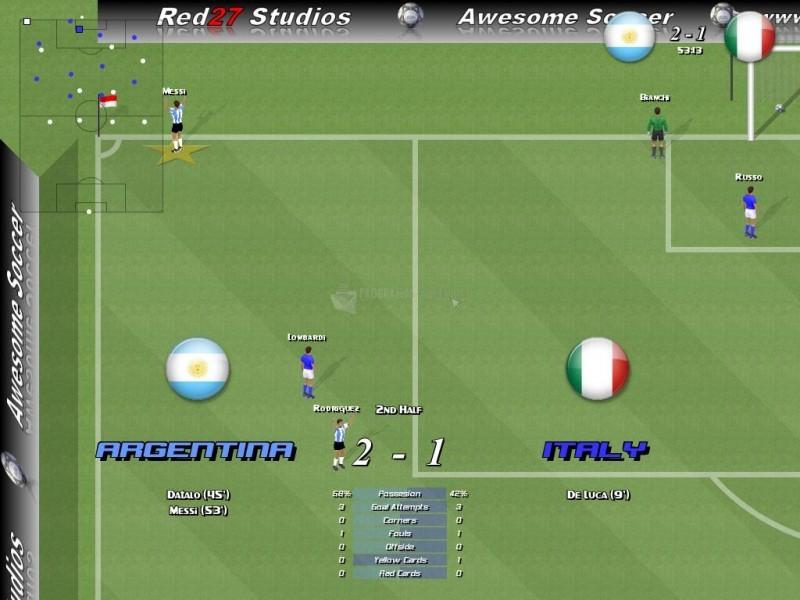Pantallazo Awesome Soccer