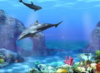 Foto Living 3D Dolphins Free ScreenSaver