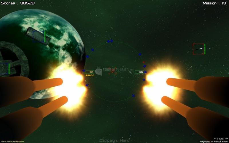 Pantallazo Gunner: Free Space Defender