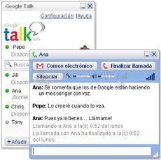 Pantallazo Google Talk