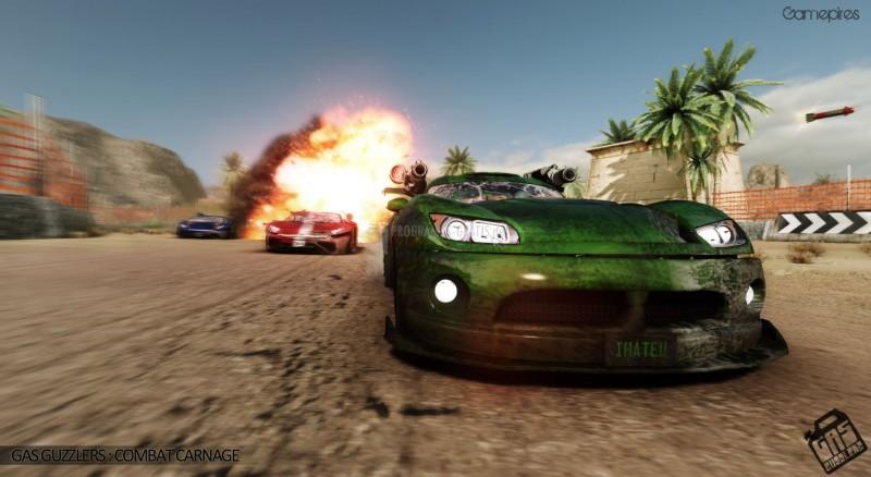 Pantallazo Gas Guzzlers: Combat Carnage