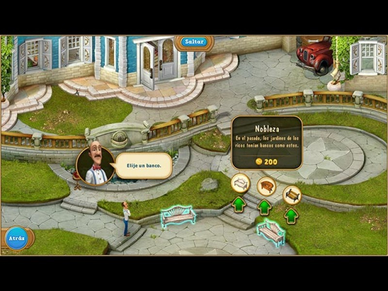 Pantallazo Gardenscapes 2