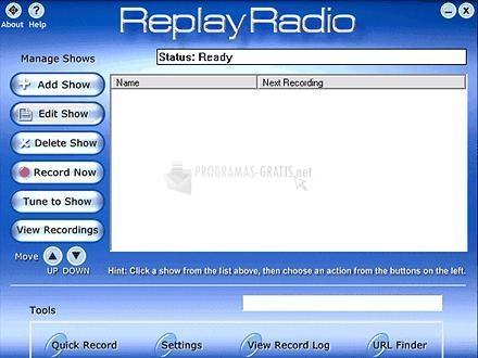 Pantallazo Replay Radio