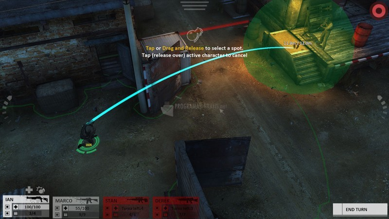 Pantallazo Arma Tactics