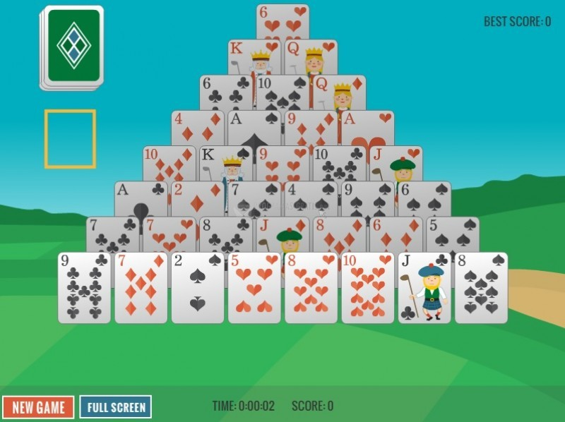 Pantallazo Golfer Tower Solitaire