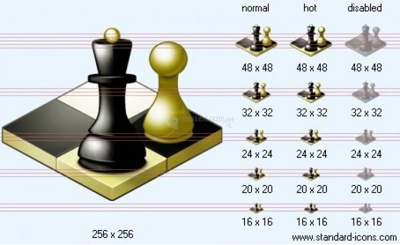 Pantallazo Standard Chess Icons