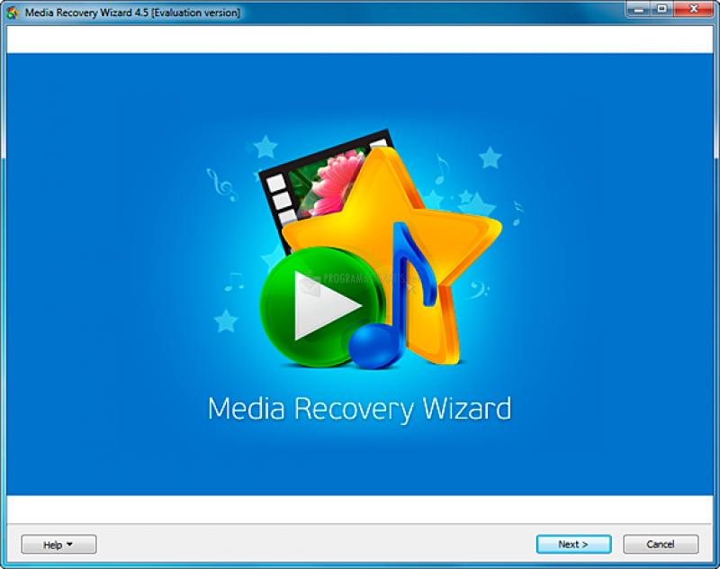 Pantallazo Media Recovery Wizard