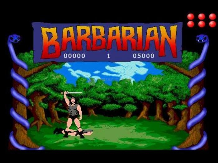 Pantallazo Barbarian