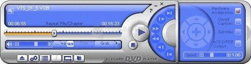 Pantallazo Elecard DVD Player