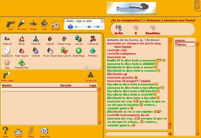 Pantallazo OnlineBandidos