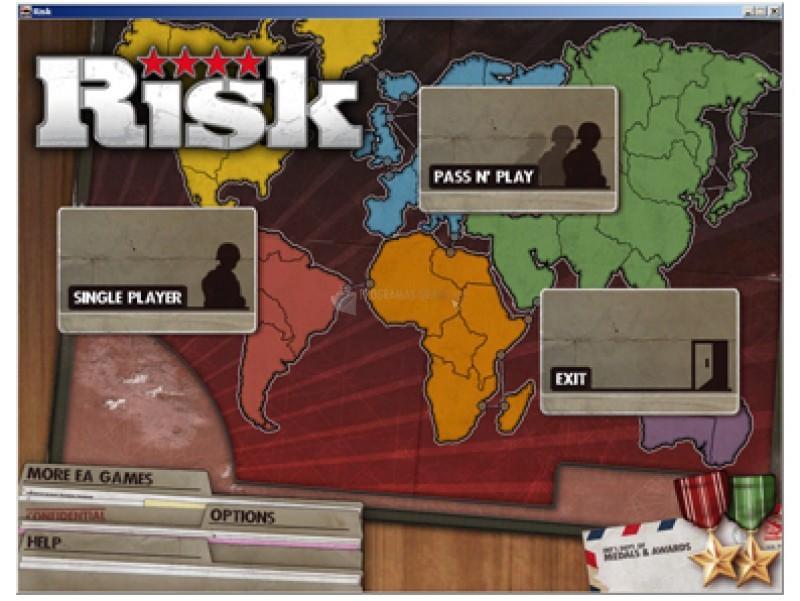 Pantallazo PopCap Risk