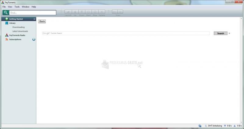 Pantallazo FeyTorrents