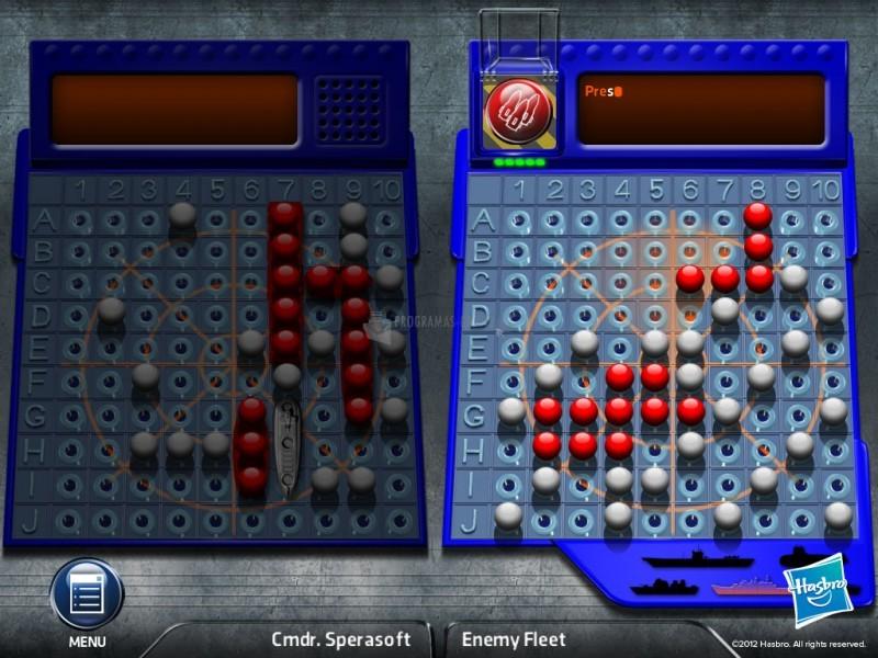 Pantallazo Battleship - El juego de PC