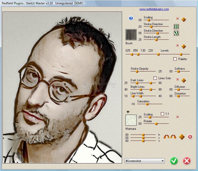 Pantallazo Sketch Master