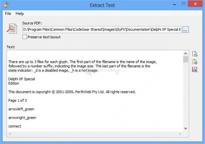 Pantallazo PDF Shaper