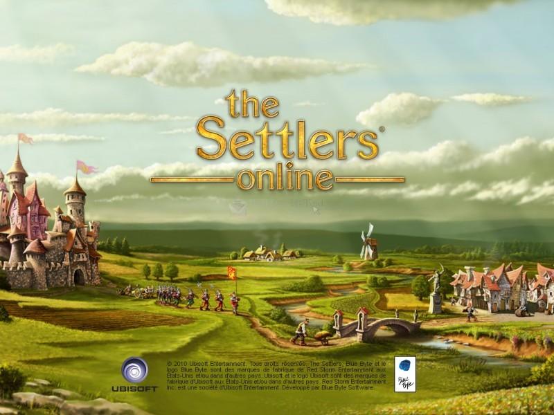 Pantallazo The Settlers Online Fan Kit