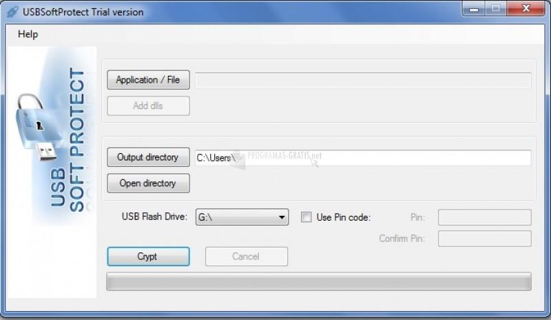 Pantallazo USBSoftProtect
