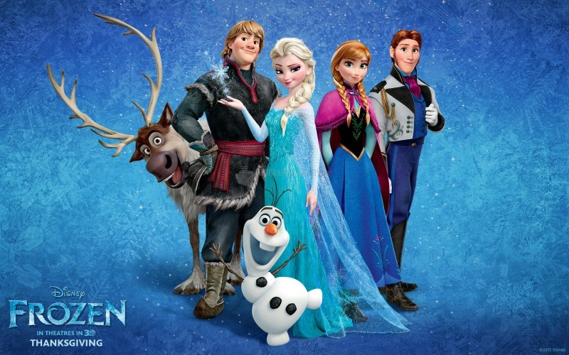 Pantallazo Frozen, el reino del hielo
