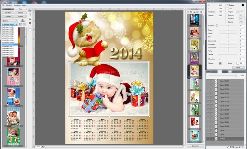 Pantallazo Calendars Professional 2014