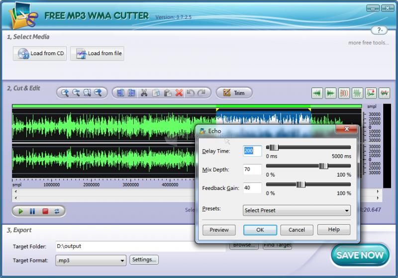 Captura Free MP3 Cutter