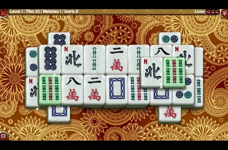 Pantallazo Random Mahjong