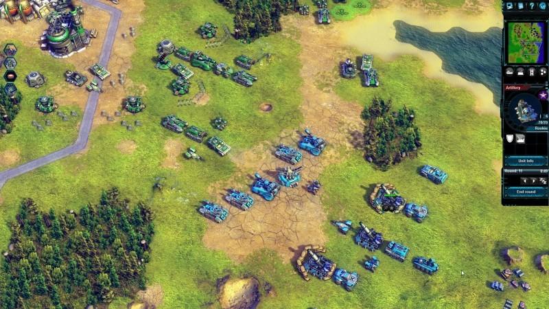 Pantallazo Battle Worlds: Kronos