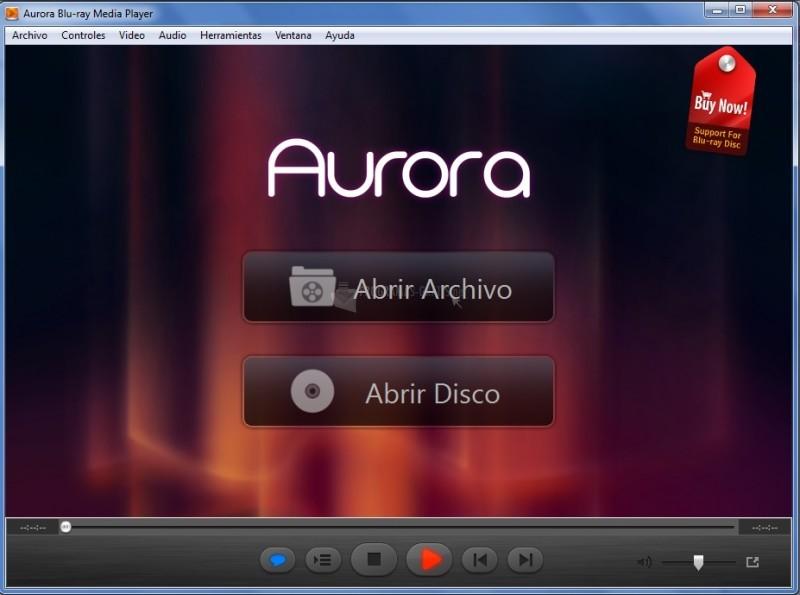 Pantallazo Aurora Blu-ray Media Player